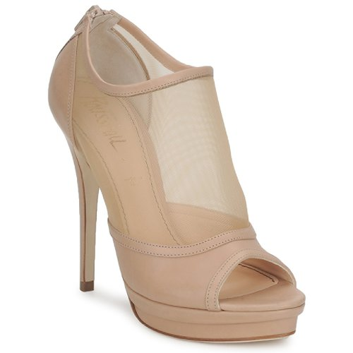 Schuhe Damen Ankle Boots Jerome C. Rousseau ELLI MESH Beige