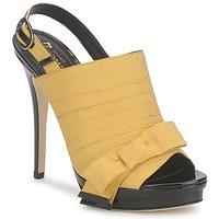 Schuhe Damen Sandalen / Sandaletten Jerome C. Rousseau ROXY Gelb / Schwarz