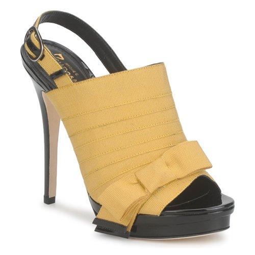 Jerome C. Rousseau ROXY Gelb / Schwarz  Schuhe Sandalen / Sandaletten Damen 420