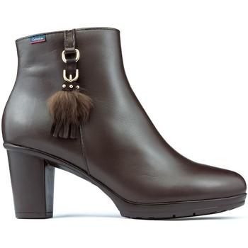 Schuhe Damen Low Boots CallagHan SIERRA ANTIC DANA Booties BRAUN