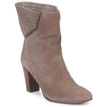 Schuhe Damen Low Boots Lottusse ERMINIA Braun