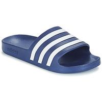 Schuhe Pantoletten adidas Performance ADILETTE AQUA Blau