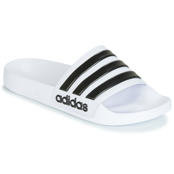 Schuhe Pantoletten adidas Originals ADILETTE SHOWER Weiss / Schwarz