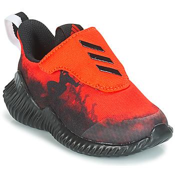 Schuhe Jungen Laufschuhe adidas Originals FORTARUN SPIDER-MAN Rot / Schwarz