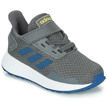 Schuhe Jungen Laufschuhe adidas Performance DURAMO 9 I Grau