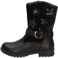 Schuhe Mädchen Low Boots Asso AG-437 Schwarz