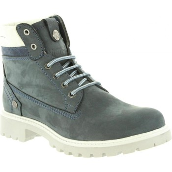 Schuhe Damen Boots Wrangler WL182500 CREEK Azul