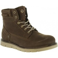 Schuhe Herren Boots Wrangler WM182010 TUCSON DARK BROWN Marrón