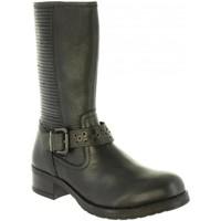 Schuhe Damen Klassische Stiefel Wrangler WL182585 FIRE Negro