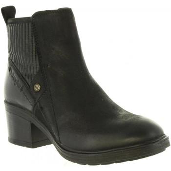 Schuhe Damen Low Boots Wrangler WL182541 VAIL Negro