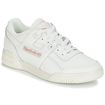 Schuhe Damen Sneaker Low Reebok Classic WORKOUT LO PLUS Weiss