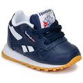 Schuhe Jungen Sneaker Low Reebok Classic CLASSIC LEATHER Blau / Weiss