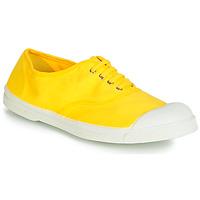 Schuhe Damen Sneaker Low Bensimon TENNIS LACETS Zitrone