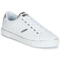 Schuhe Damen Sneaker Low Guess GROOVIE Weiss