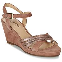 Schuhe Damen Sandalen / Sandaletten JB Martin QUOLIDAYS Camel