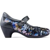 Schuhe Damen Pumps Calzamedi STEIN Schuhe SCHWARZ