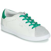 Schuhe Damen Sneaker Low LPB Shoes ABIGAELE Weiss