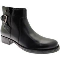 Schuhe Damen Ankle Boots Riposella RIP82839ne nero
