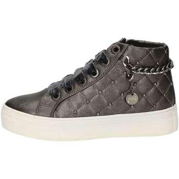 Schuhe Mädchen Sneaker High Asso AG-125 Grau