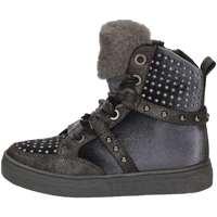 Schuhe Mädchen Sneaker High Asso AG-253 Schwarz
