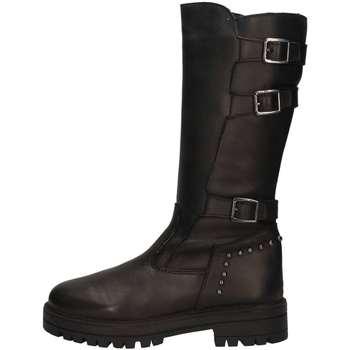 Schuhe Mädchen Klassische Stiefel Asso 67962 Schwarz