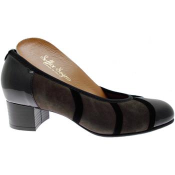 Schuhe Damen Pumps Soffice Sogno SOSO8301tu nero