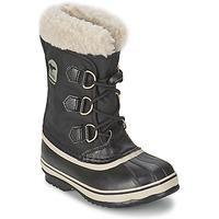 Schuhe Kinder Schneestiefel Sorel YOOT PAC NYLON Schwarz