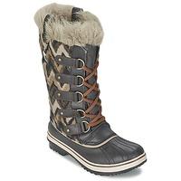 Schuhe Damen Schneestiefel Sorel TOFINO Grau