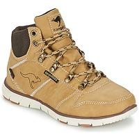 Schuhe Jungen Boots Kangaroos BLUERUN 2098 Beige