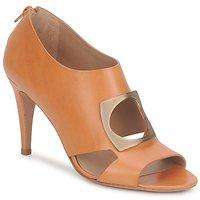 Schuhe Damen Ankle Boots Kallisté FLORA Camel
