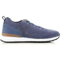 Schuhe Herren Sneaker Low Hogan HXM2610K200IHHU803 blu
