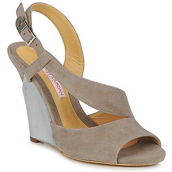 Schuhe Damen Sandalen / Sandaletten Charles Jourdan PALOMA Braun