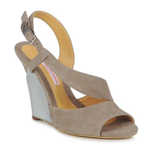 Charles Jourdan PALOMA Braun Schuhe Sandalen / Sandaletten Damen 150