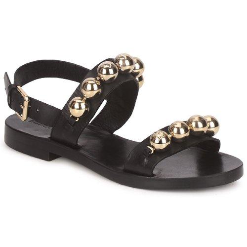 Sonia Rykiel GRELOTS Schwarz  Schuhe Sandalen / Sandaletten Damen 377,30