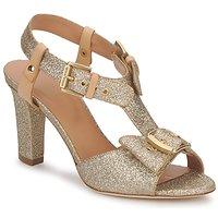 Schuhe Damen Sandalen / Sandaletten Sonia Rykiel DEFIL GAT Glitterfarbe / Gold