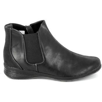 Schuhe Damen Stiefel Boissy Boots 7514 Noir Schwarz