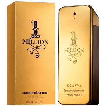 Beauty Herren Eau de toilette  Paco Rabanne one million - köln - 200ml - verdampfer one million - cologne - 200ml - spray