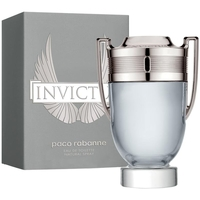 Beauty Herren Eau de toilette  Paco Rabanne invictus - köln - 100ml - verdampfer invictus - cologne - 100ml - spray