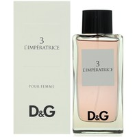 Beauty Damen Eau de toilette  D&G 3  l´imperatrice - köln - 100ml - verdampfer 3  l´imperatrice - cologne - 100ml - spray