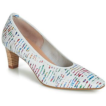 Schuhe Damen Pumps Perlato MORTY Weiss