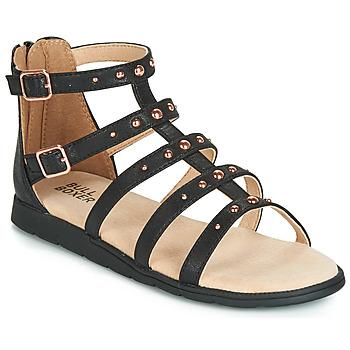 Schuhe Mädchen Sandalen / Sandaletten Bullboxer AGG021 Schwarz