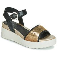 Schuhe Damen Sandalen / Sandaletten Stonefly PARKY 3 NAPPA/PAILETTES Schwarz