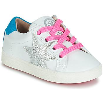 Schuhe Mädchen Sneaker Low Acebo's STARWAY Weiss