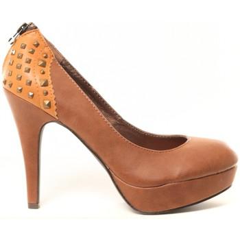 Schuhe Damen Pumps Cassis Côte d'Azur Escarpins Djak Beige Beige