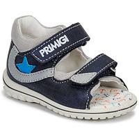 Schuhe Jungen Sandalen / Sandaletten Primigi 3377611 Blau