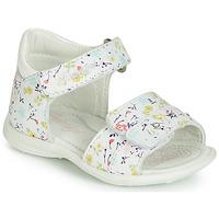 Schuhe Mädchen Sandalen / Sandaletten Primigi 3407033 Weiss
