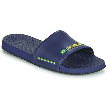 Schuhe Herren Pantoletten Havaianas SLIDE BRASIL Blau