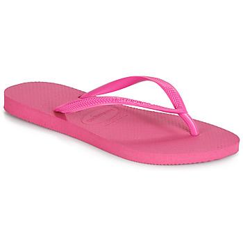 Schuhe Damen Zehensandalen Havaianas SLIM Rose