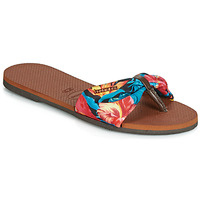Schuhe Damen Zehensandalen Havaianas YOU SAINT TROPEZ Orange