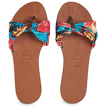 Schuhe Damen Zehensandalen Havaianas YOU SAINT TROPEZ Orange